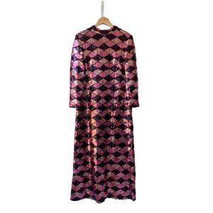 Great Unknown Designer Sequin Gown